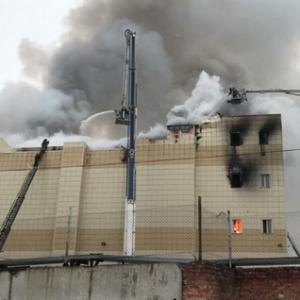 俄罗斯一购物中心火灾:37人遇难 数十名儿童失踪